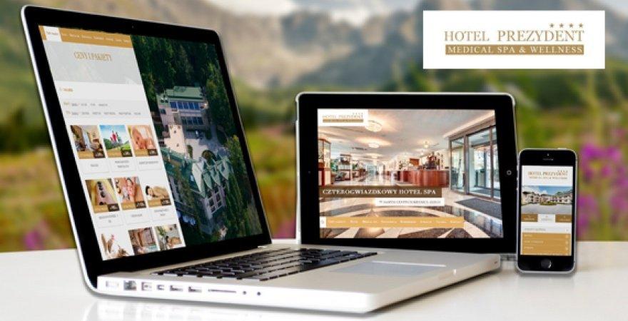 Nowa odsłona kultowego Hotelu Prezydent w Krynicy Zdrój