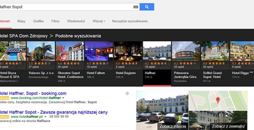 Google testuje karuzelę w Polsce