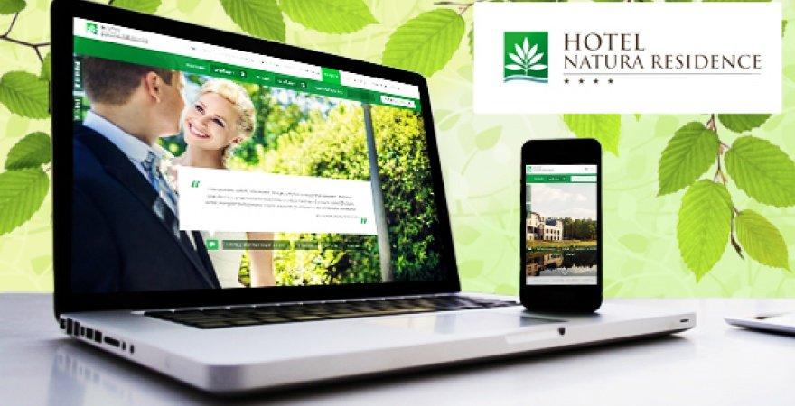 Ludzkie oblicze hotelu Natura Residence czyli strona, która przemawia opiniami.