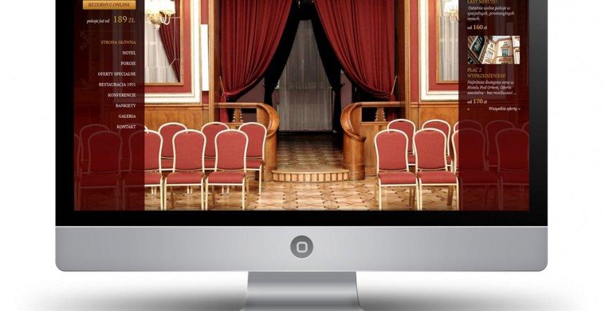 Hotel Pod Orłem - nowa realizacja PROFITROOM