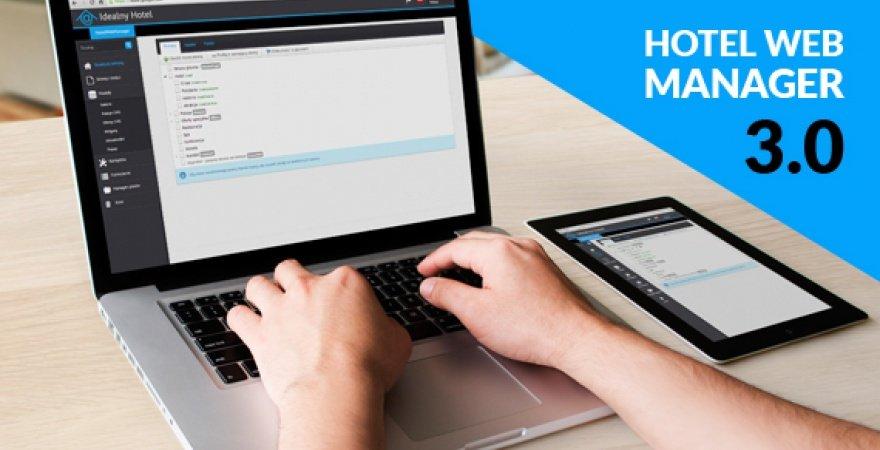 HotelWebManager 3.0 - nowa wersja systemu zarządzania stronami hoteli