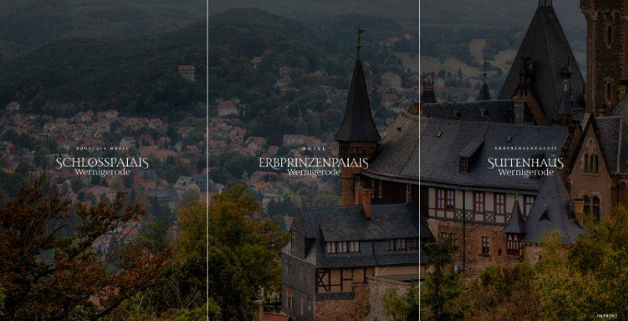 Wernigerode, Schlosspalais und eine märchenhafte Hotelwebseite - die wahre Geschichte