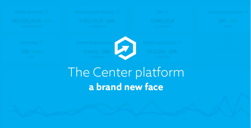 A brand new face of the Center platform