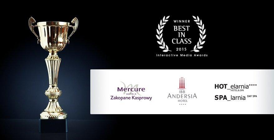 Wygrywamy główne nagrody w konkursie IMA Awards 2015!