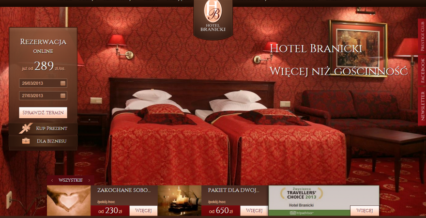 Nasza nowa realizacja: Hotel Branicki