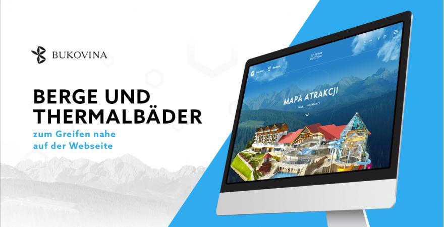 Thermale Energie der Berge – eine Webseite kann so energetisch sein!