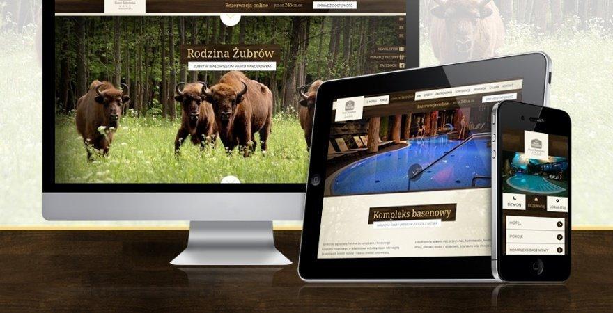 Best Western Hotel Żubrówka zaprasza nową stroną www hotelu
