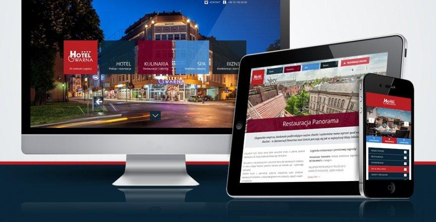 Piękniejsza strona Legnicy - nowa witryna Hotelu Gwarna****