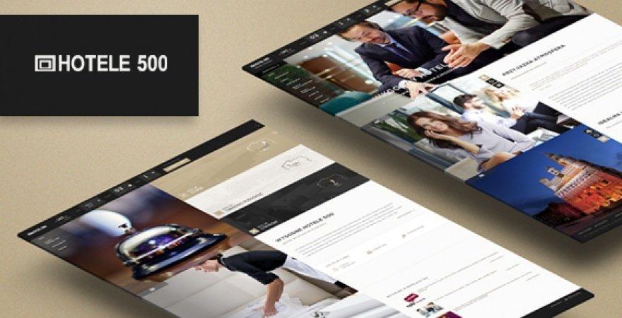 Nowa realizacja WWW dla Hoteli 500