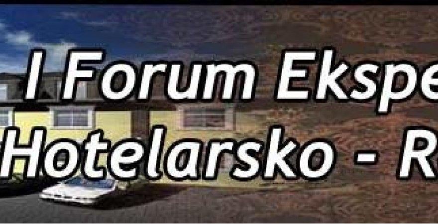 HotelEkspert – PROFITROOM na Eksperckim Forum Branży Hotelarsko-Restauracyjnej