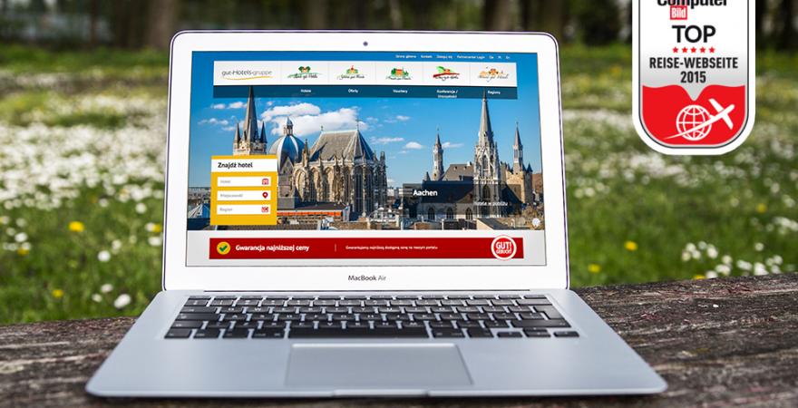 TOP Reise Webseite 2015