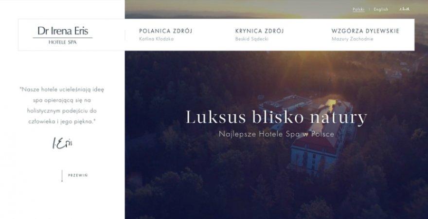 Historia o tym, jak zbudowaliśmy stronę hotelu sprzedającą marzenie o prestiżowym relaksie