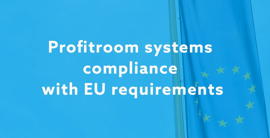 GDPR: Profitroom systems compliance with EU requirements