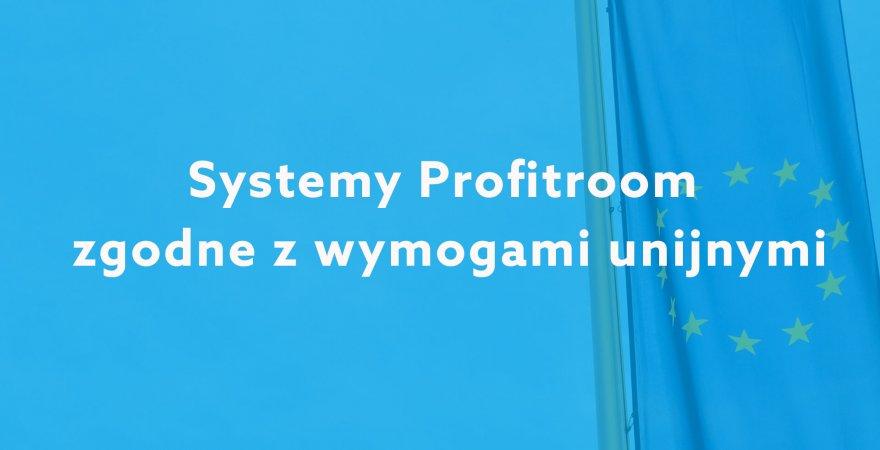 RODO: Systemy Profitroom zgodne z wymogami unijnymi