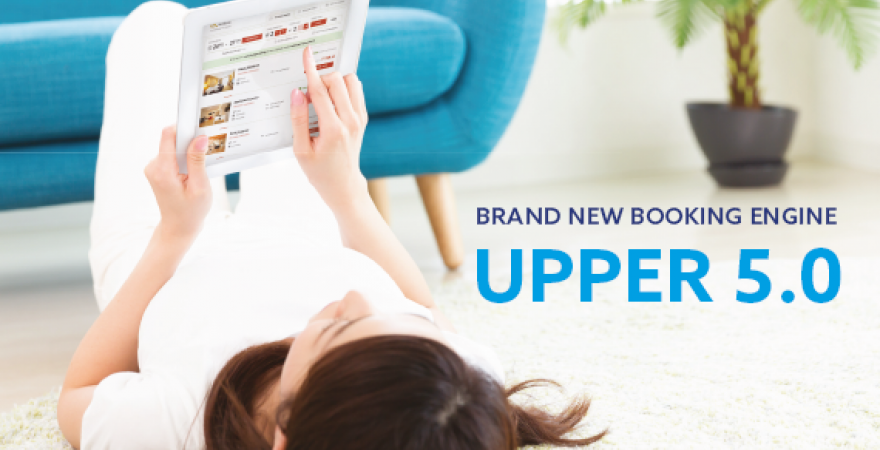 New generation Booking Engine <br>Upper 5 is here!