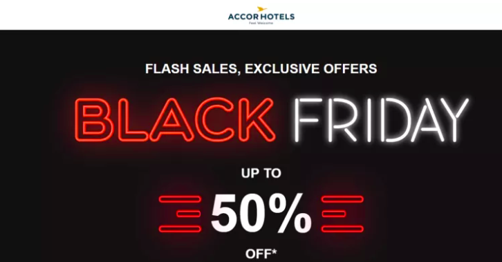Black Friday at hotel