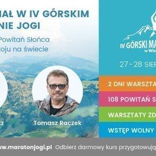 IV Górski Maraton Jogi w Wierchomli