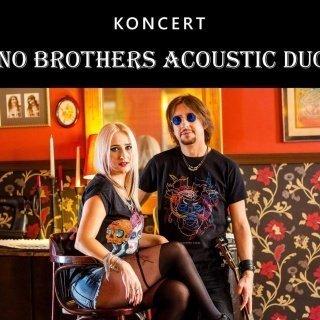 Rockowe brzmienia zespołu No Brothers Acoustic Duo