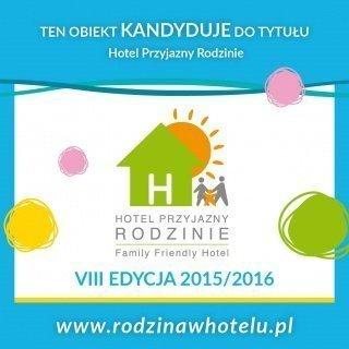 VIII edycji kampanii Hotel Przyjazny Rodzinie