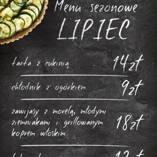 Lipcowe menu sezonowe