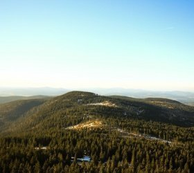 Mittagsplatzl, 1340 m über Rißlochfälle