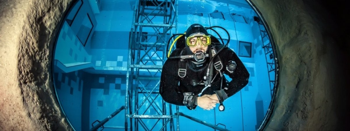 Najgłębszy basen nurkowy na świecie już otwarty!