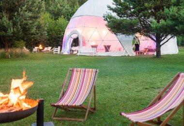 Namiot sferyczny - idealne miejsce na event