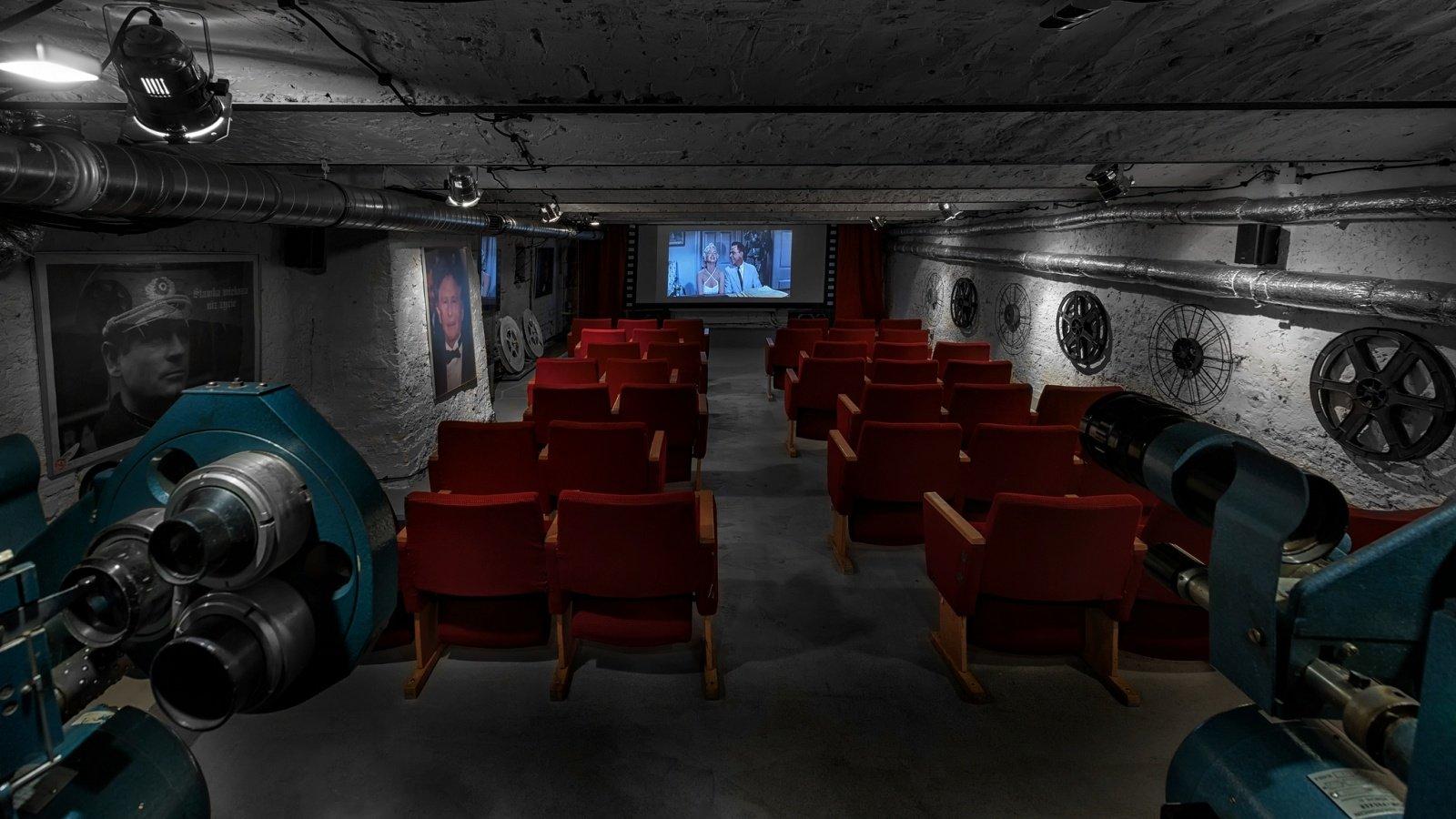 Sala kinowa Stare Kino w Łodzi