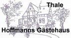 Stadt-gut-Hotel Hoffmanns Gästehaus in Thale