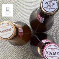 Lokalne piwo dostęne w hotelu.