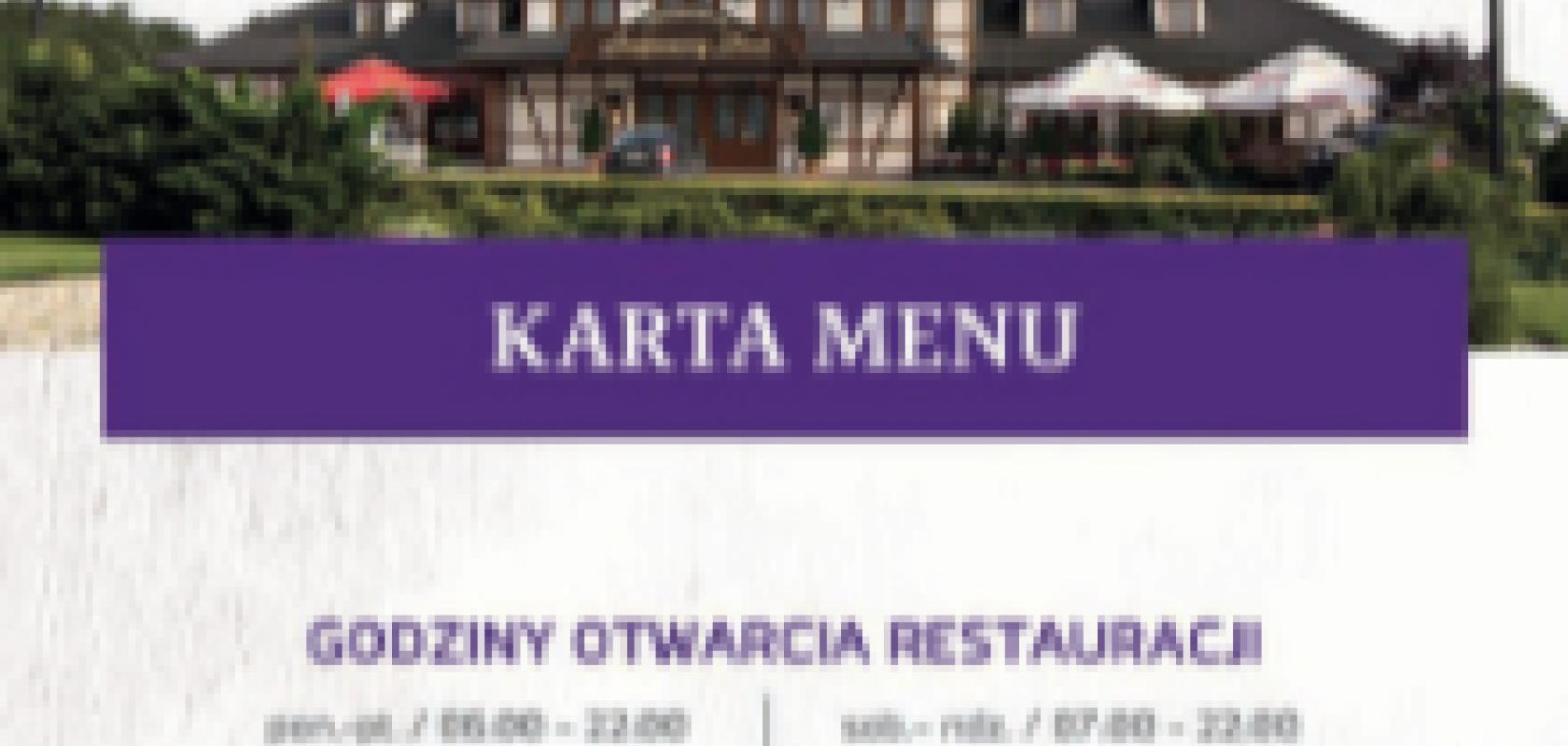 Nowości w menu