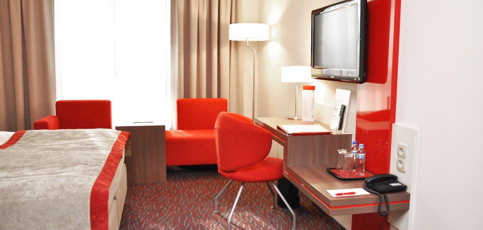 Home Office w Hotelu Szafran