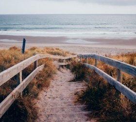 Wiosenny relaks nad morzem