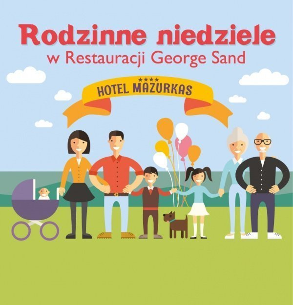 Rodzinne Niedziele w Restauracji George Sand