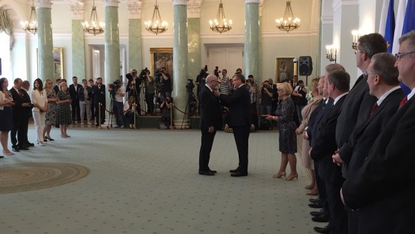 Andrzej Bartkowski - Prezes Grupy Mazurkas, uhonorowany Złotym Krzyżem Zasługi
