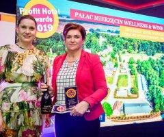 Profit Hotel Award 2019 dla Pałacu Mierzęcin