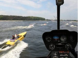 Racing Motor Boats in Szczecin