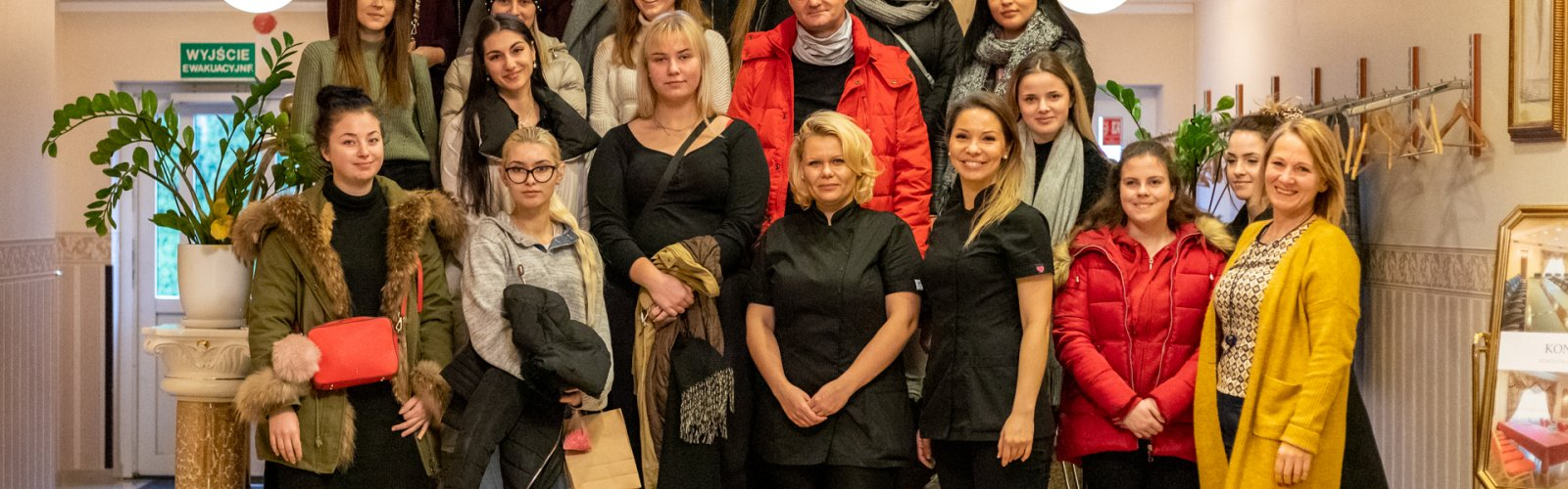 Studenci PWSZ Koszalin z wizytą w Instytucie SPA & Wellnes