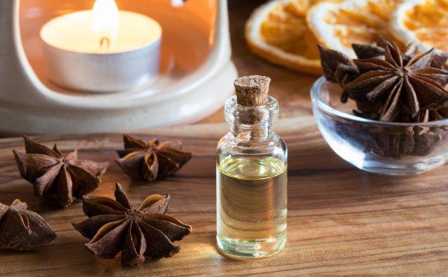 Relaxing power of orange and anise