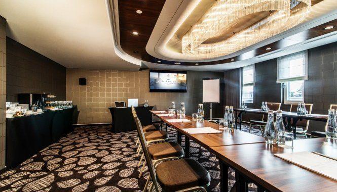 会议和商务的中心