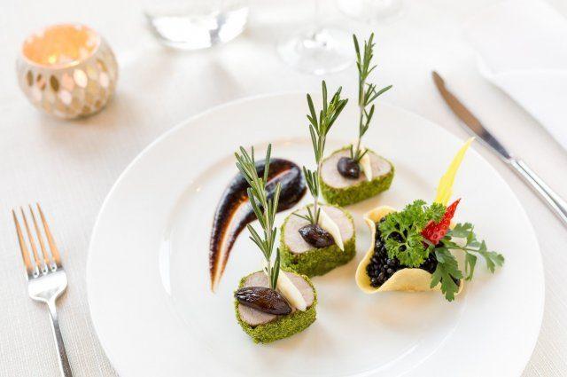 Rich cuisine