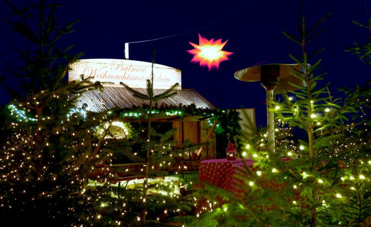 Das Balmer Weihnachtsmärkten steht auch noch zu Silvester