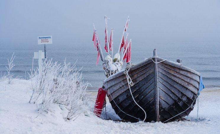 Am Balmer See ist auch der Winter ein Erlebnis in der Natur.