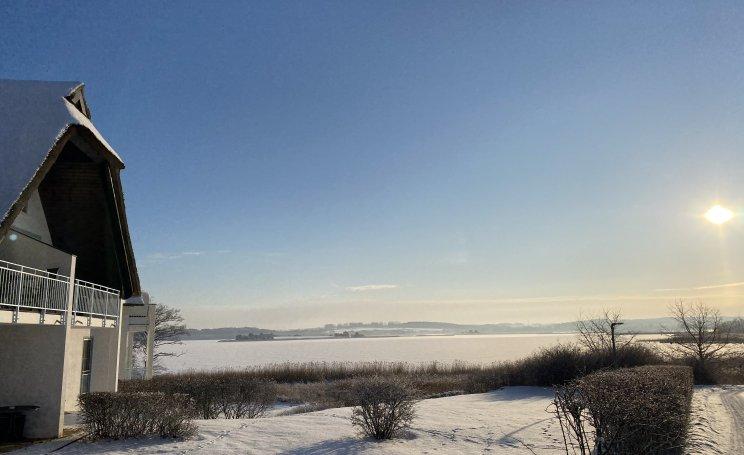 Weihnachten am Balmer See von seiner schönsten, verschneiten Seite.