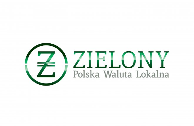 Green - the Polish Local Currency
