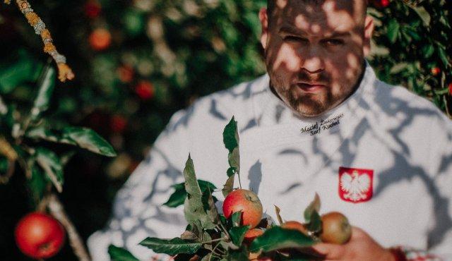Chef Maciej Żukowski w akcji