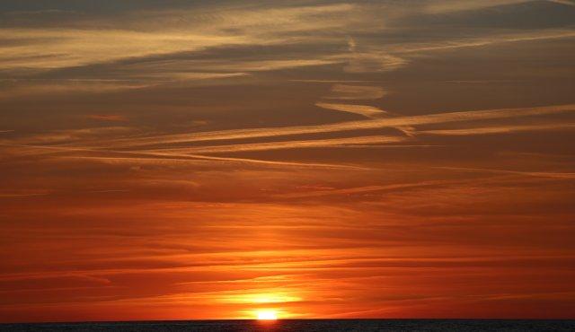 Sonnenuntergang heute