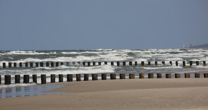 Dźwirzyno, plaża HAVET Hotel
