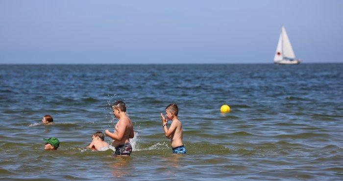 zalecany kierunek -> plaża HAVET Hotel