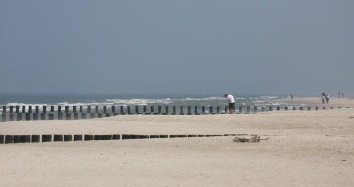 słoneczne plażowanie nad morzem